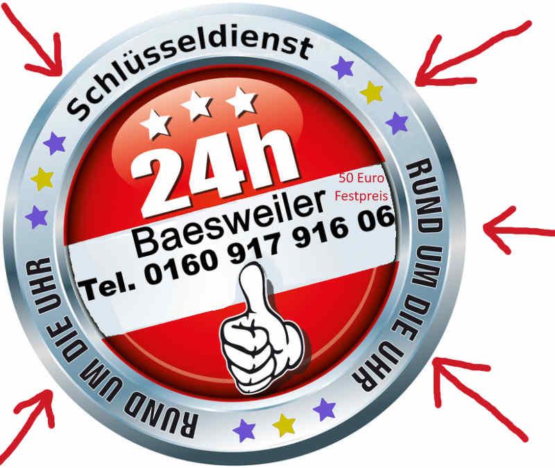 Schlüsseldienst Baesweiler Beggendorf , Puffendorf, Setterich Notdienst Tag und Nacht zum Festpreis