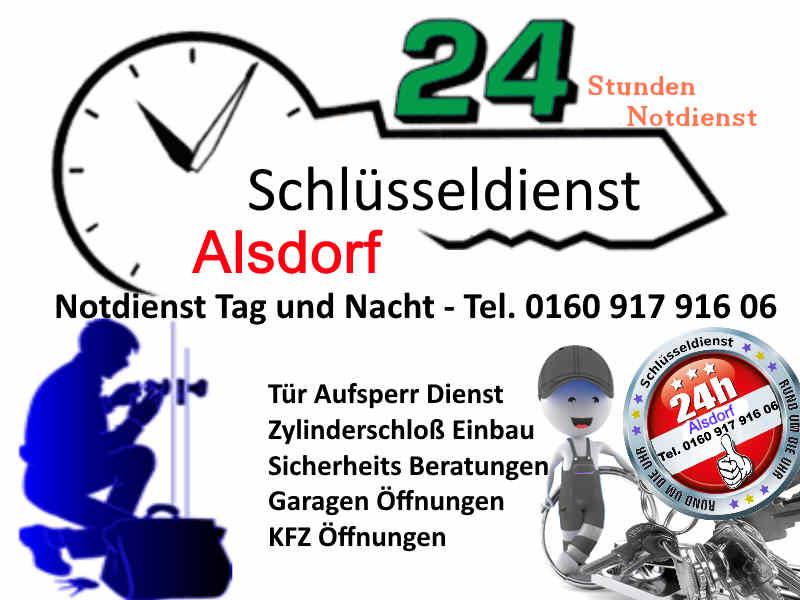 Schlüsseldienst Alsdorf Notdienst Tag und Nacht Alsdorf Zopp Alsdorf Ofden Kellersberg Ofden Ost Mariadorf