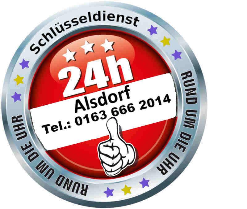 Schlüsseldienst Alsdorf Broicher Siedlung sowie Alsdorf Hoengen, Alsdorf Zopp und Alsdorf Mariadorf Notdienst - Tag und Nacht zum 50 Euro Festpreis