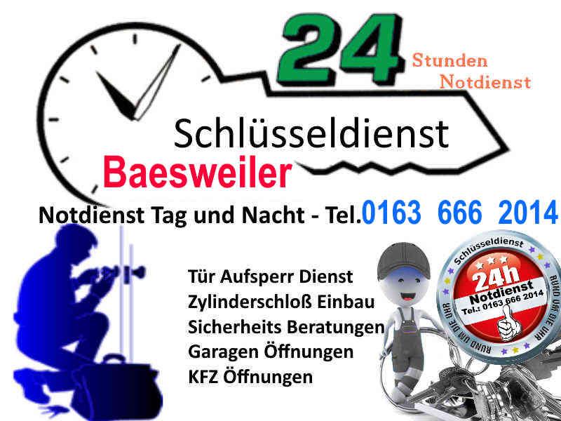 Schlüsseldienst Baesweiler Alsdorf Mariadorf Hoengen zum 50 Euro Festpreis Tag und Nacht