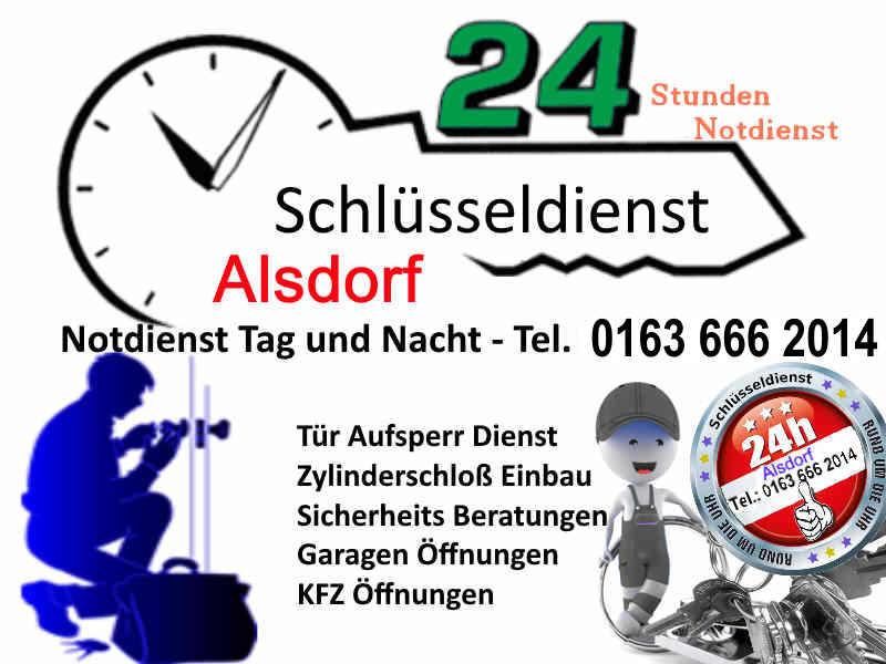 Schlüsseldienst Alsdorf Kellersberg, Broicher Siedlung, Mariadorf, Alsdorf Ost, Alsdorf Zopp, Siedlung Begau und Schlüsseldienst Hoengen und Schaufenberg