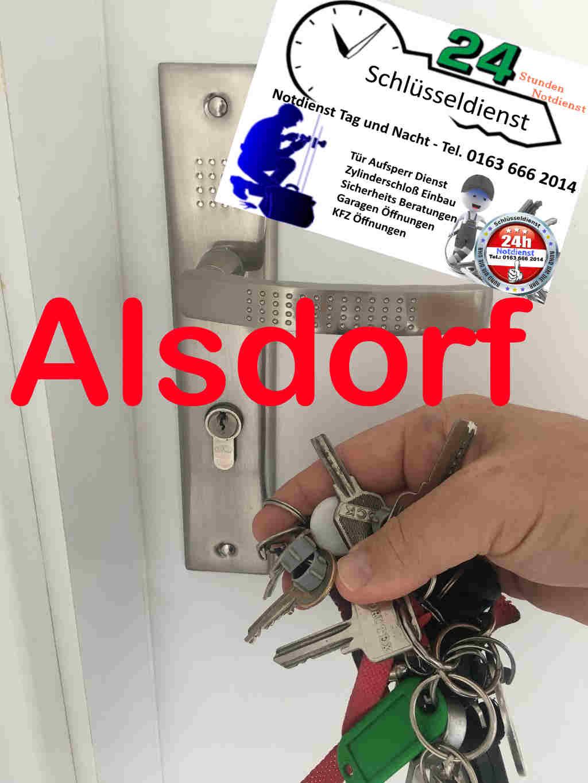 Schlüsseldienst Alsdorf Ost mit 50 Euro Festpreis bei kostenfreier Anfahrt tag und Nacht