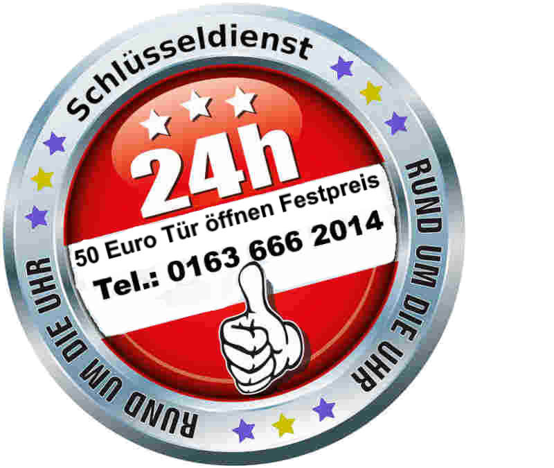 Schlüsseldienst Alsdorf mit 50 Euro Festpreis bei kostenfreier Anfahrt Tag und Nacht