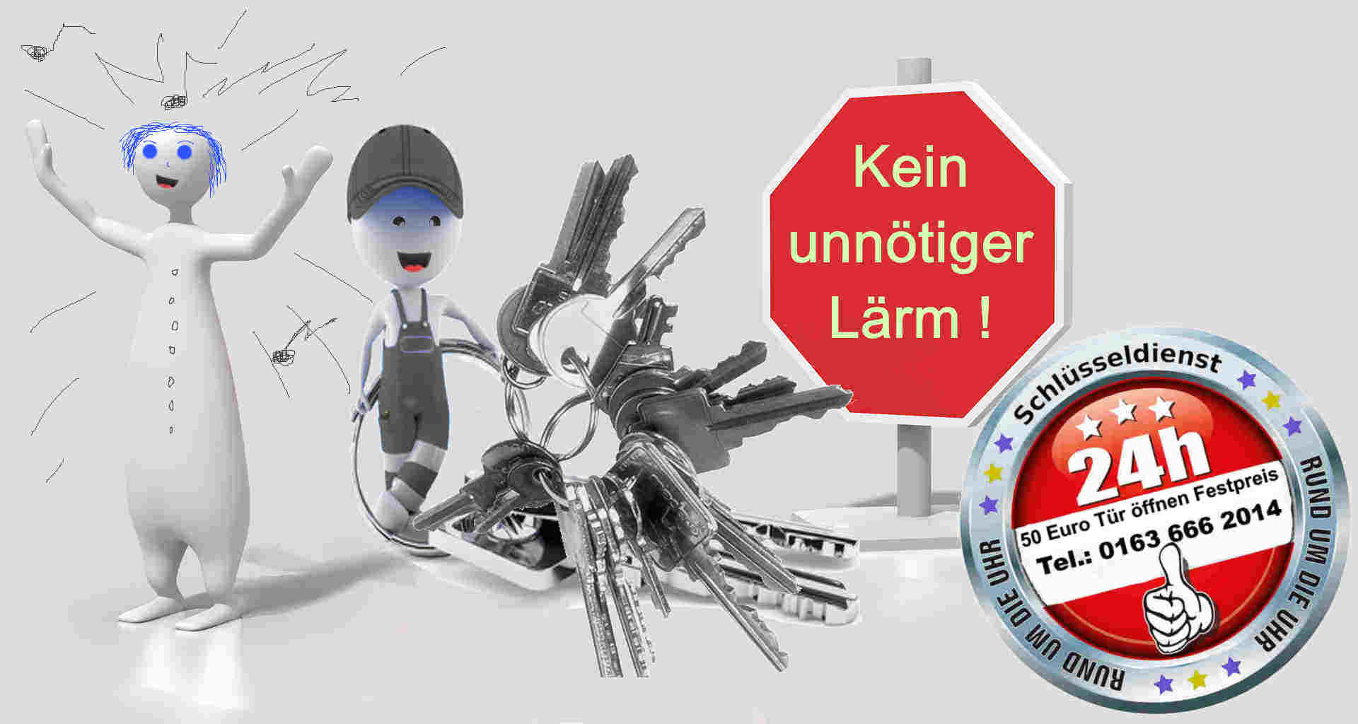 Schlüsseldienst Alsdorf - Notdienst Tag und Nacht - Monteur Karl