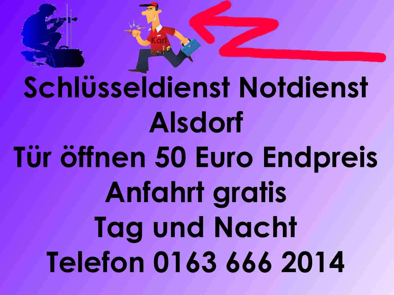 Schlüsseldienst Notdienst Alsdorf